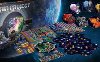 Обзор настольной игры «Проект Гайя»