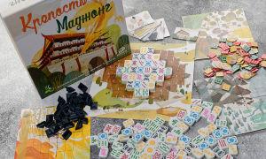 """Настольная игра """"Крепость Маджонг"""" – упрощенная версия классического маджонга"""