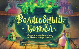 Настольная игра Волшебный котел: спасти королевство!