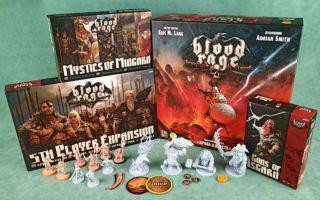 Настольная игра «Кровь и ярость» – викинги в гуще славной битвы