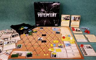 Обзор настольной игры Уотергейт