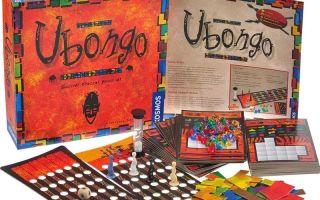 Настольная игра Убонго.