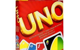 Как играть в настольную игру Уно (Uno), описание, правила