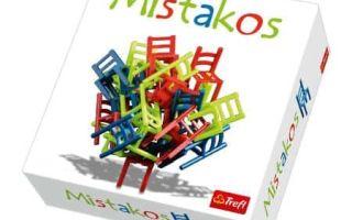Настольная игра Балансирующие стулья (Мистакос, Mistakos)