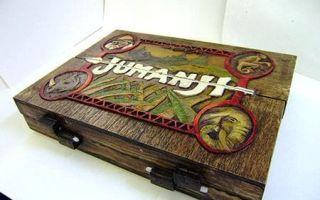 Настольная игра Джуманджи/Jumanji, 1995: не начинайте, если не собираетесь закончить!