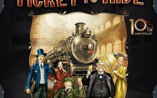 Настольная игра Билет на поезд/Ticket to ride: наш паровоз вперед летит