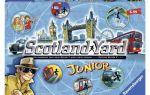Настольная игра Скотланд Ярд/Scotland Yard: служба и опасна и трудна