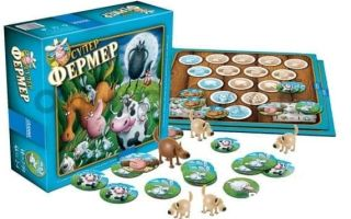 Настольная игра Суперфермер — азбука сельской жизни для детей и взрослых