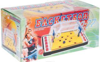 Настольный баскетбол: игра, знакомая  со времен Советского Союза