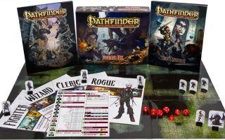 Настольная ролевая игра Pathfinder RPG: Мир следопытов