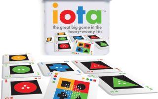 Етта (Йота, Iota) — миниатюрная игра для большого веселья