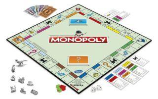 Настольная игра Монополия полные правила, популярные виды игры