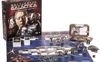 Настольная игра Звездный крейсер Галактика/Battlestar Galactica:The Board Game – пангалактические приключения в компании роботов-убийц