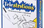 Настольная игра Испорченный телефон/Telestrations, Stille Post Extrem, 2009 : читайте слово, рисуйте картинки.