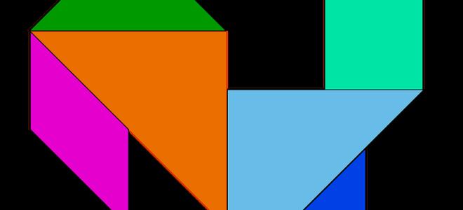 Игра Танграм для школьников и дошкольников