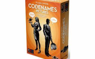 Настольная игра Кодовые Имена/ Codenames: примерь на себя роль  тайного агента.