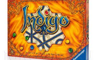 Настольная игра  Индиго/Indigo. Ощути магию драгоценных камней.