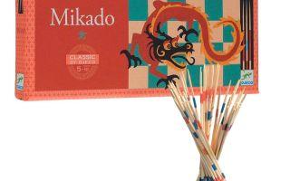 Настольная игра Микадо: как и где надо вытаскивать деревянные палочки)