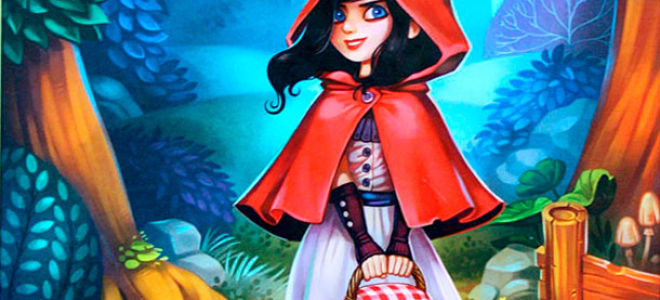 «Красная Шапочка»: настольная сказка
