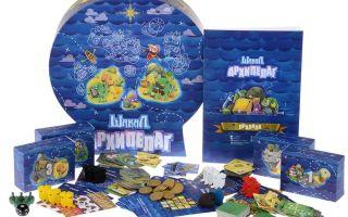 Настольная игра Шакал Архипелаг: развлечение для настоящих пиратов