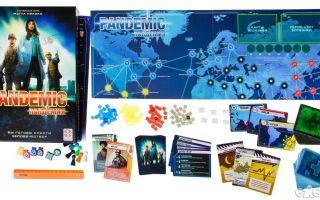 Настольная игра Пандемия/Pandemic: без бахил не входить!