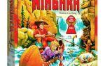 Настольная игра Ниагара/Niagara: водопад геймплея