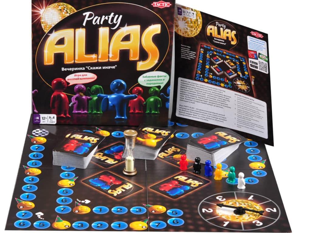 игра алиас пати (вечеринка)