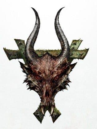 символ рогатой крысы