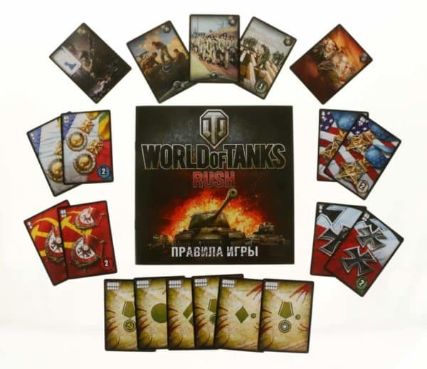 "Настольная игра ""World Of Tanks"""