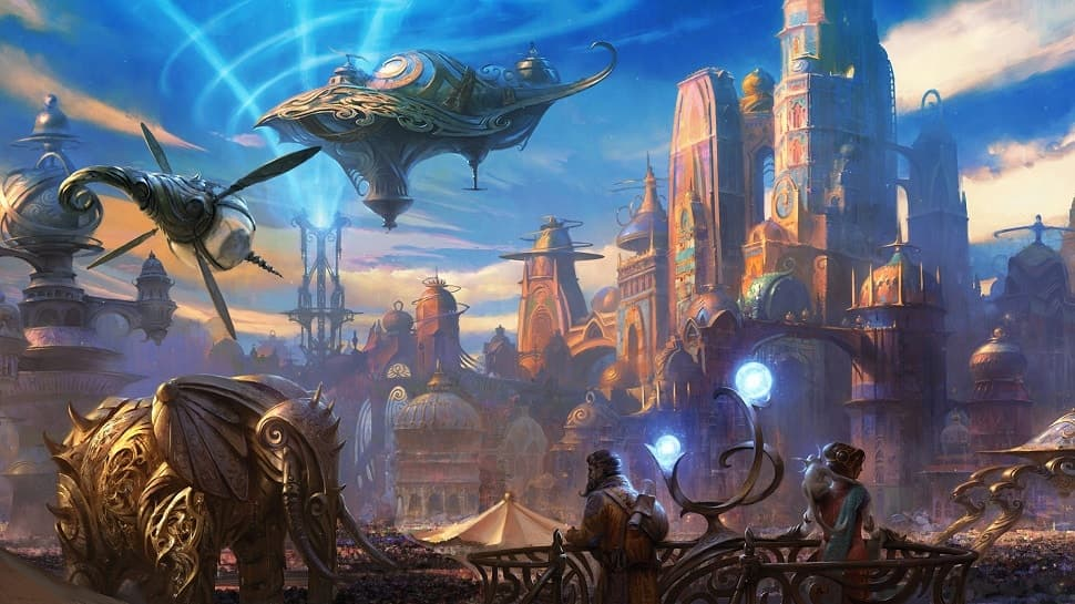 Magic: The Gathering. Миры и расы