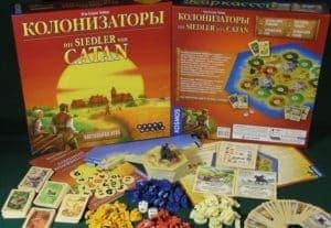 """Настольная игра """"Колонизаторы"""""""