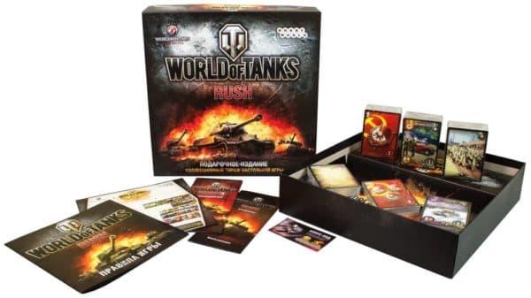 """Настольная игра """"World Of Tanks Rush"""""""