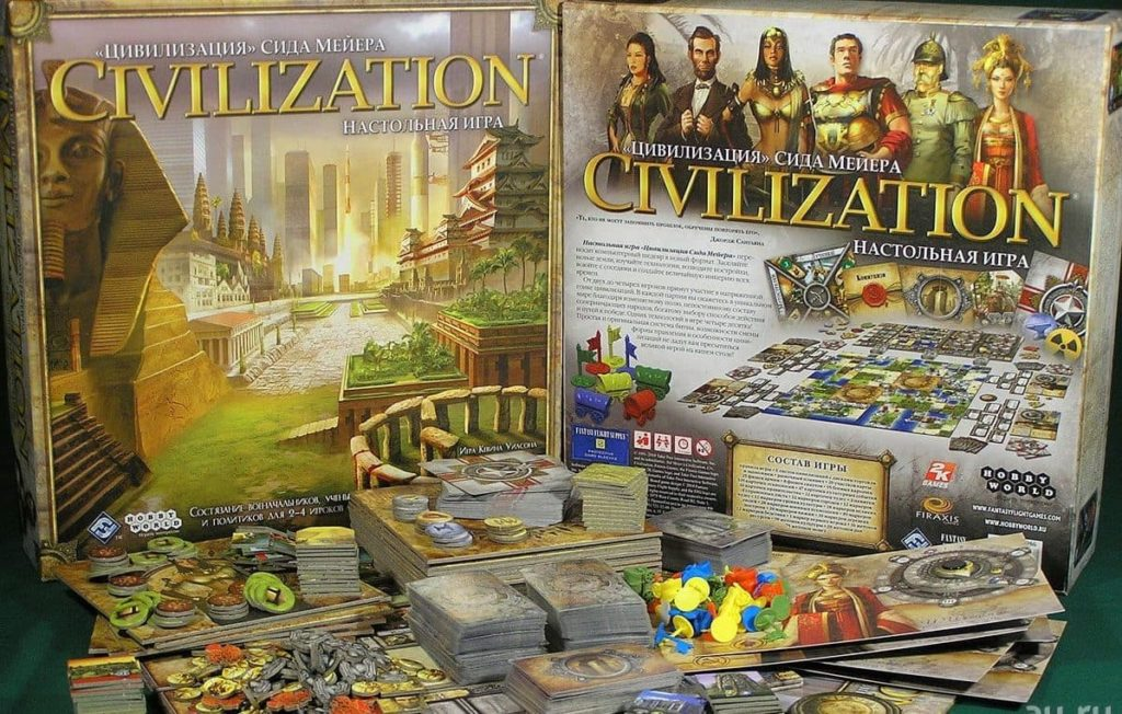 Civilication The Board Game