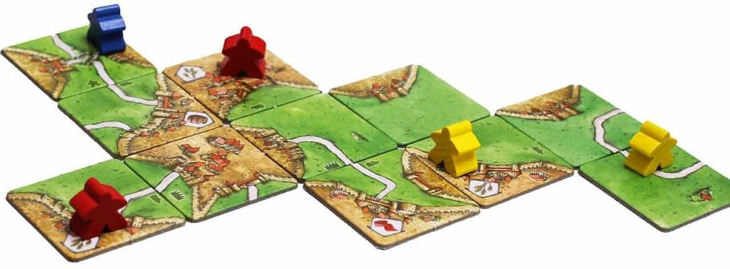 В игре используют поля и крестьян