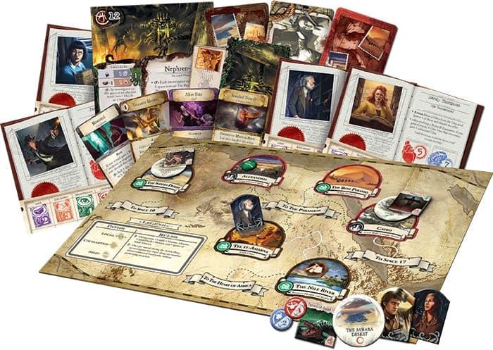 Мистический мир Говарда Лавкрафта в игре Древний Ужас (Eldritch Horror)