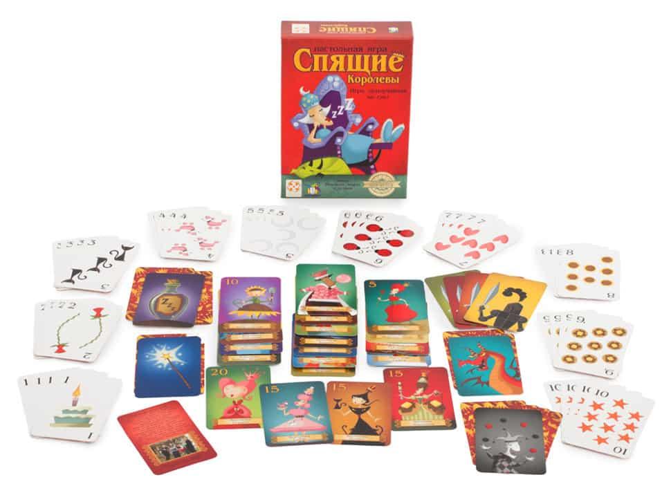 В колоде, помимо волшебных персонажей и карт магии, можно найти и другие, арифметические карты.