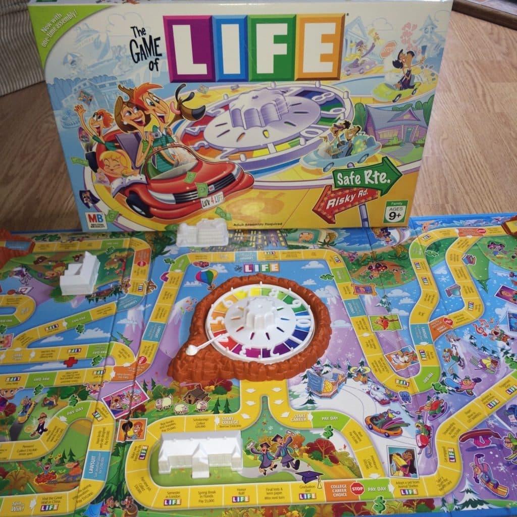 Настольная игра Игра в Жизнь/Life: симулятор жития:)