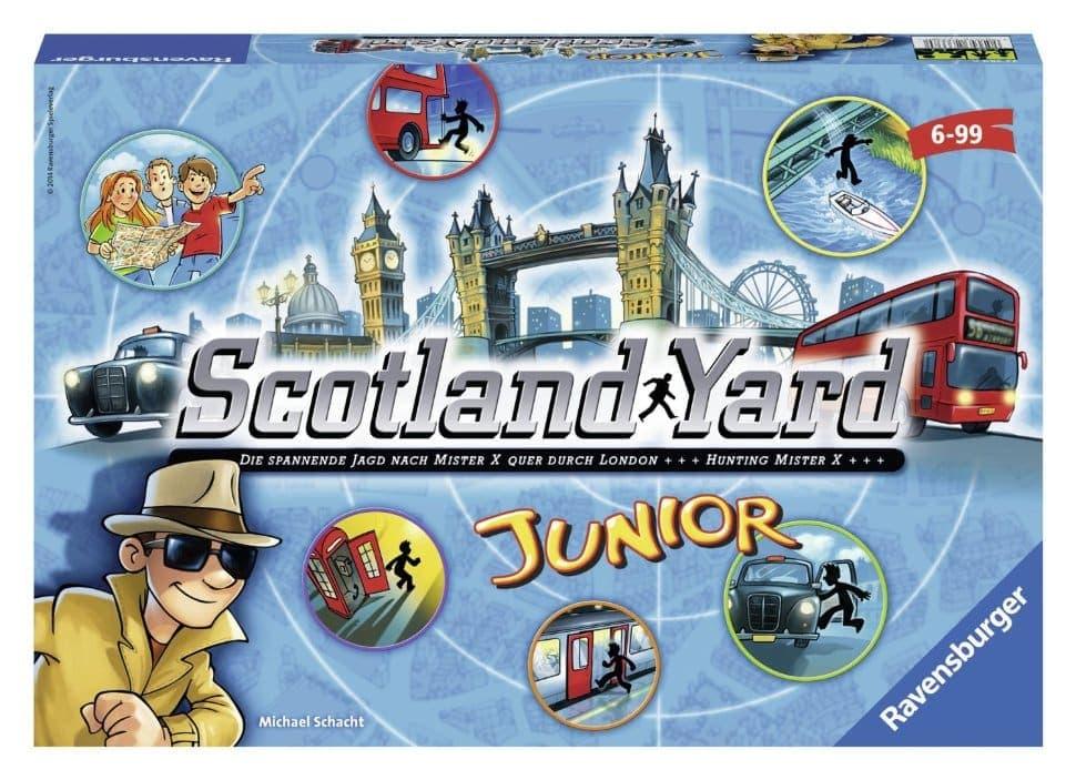 Склотланд ярд - игра для настоящих детективов.