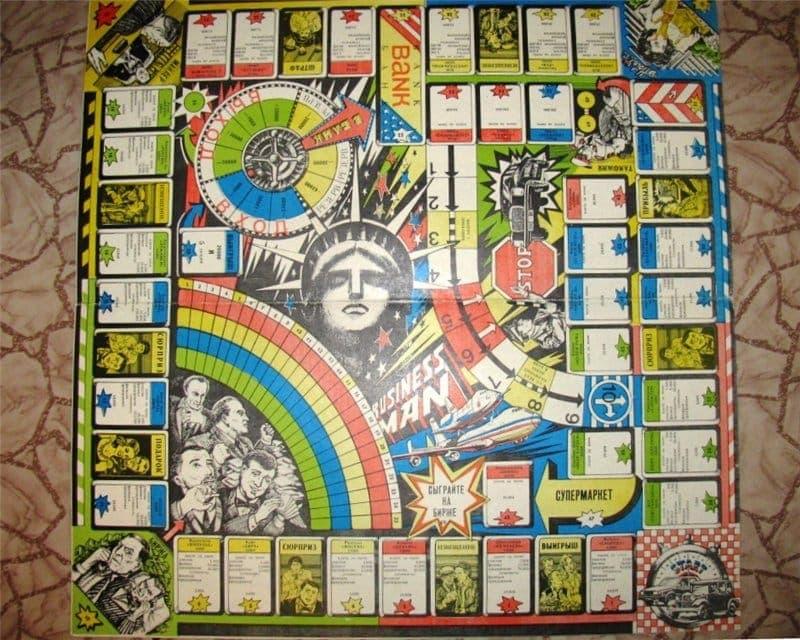 экономические настольные игры 90 х