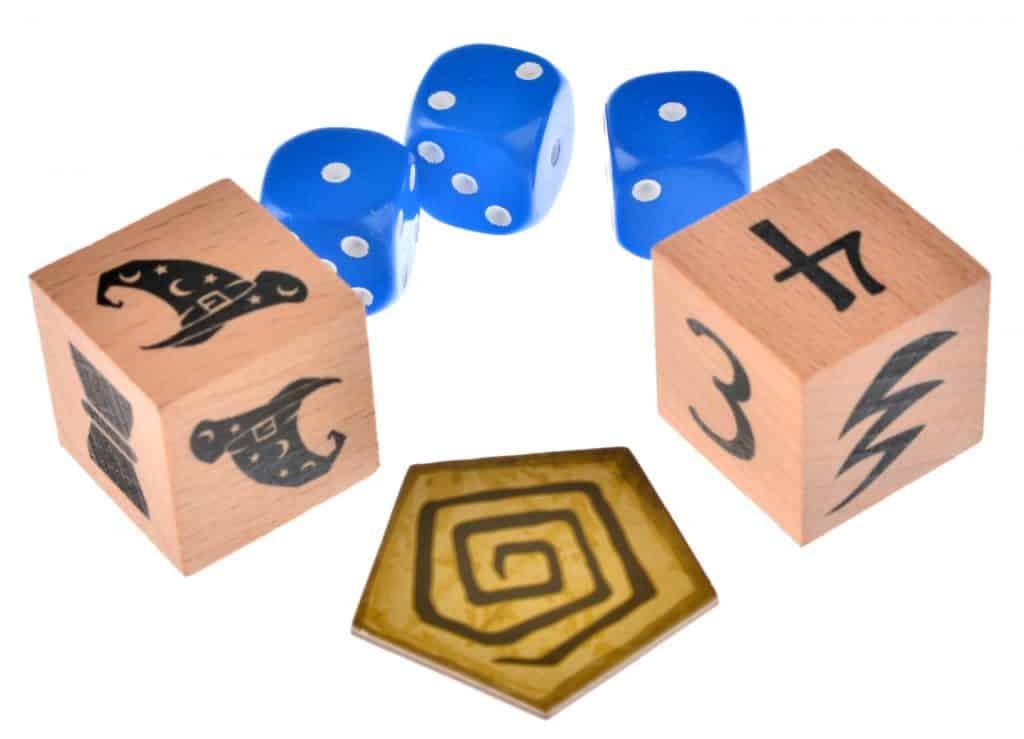 фишки кубики для игры волшебный котел