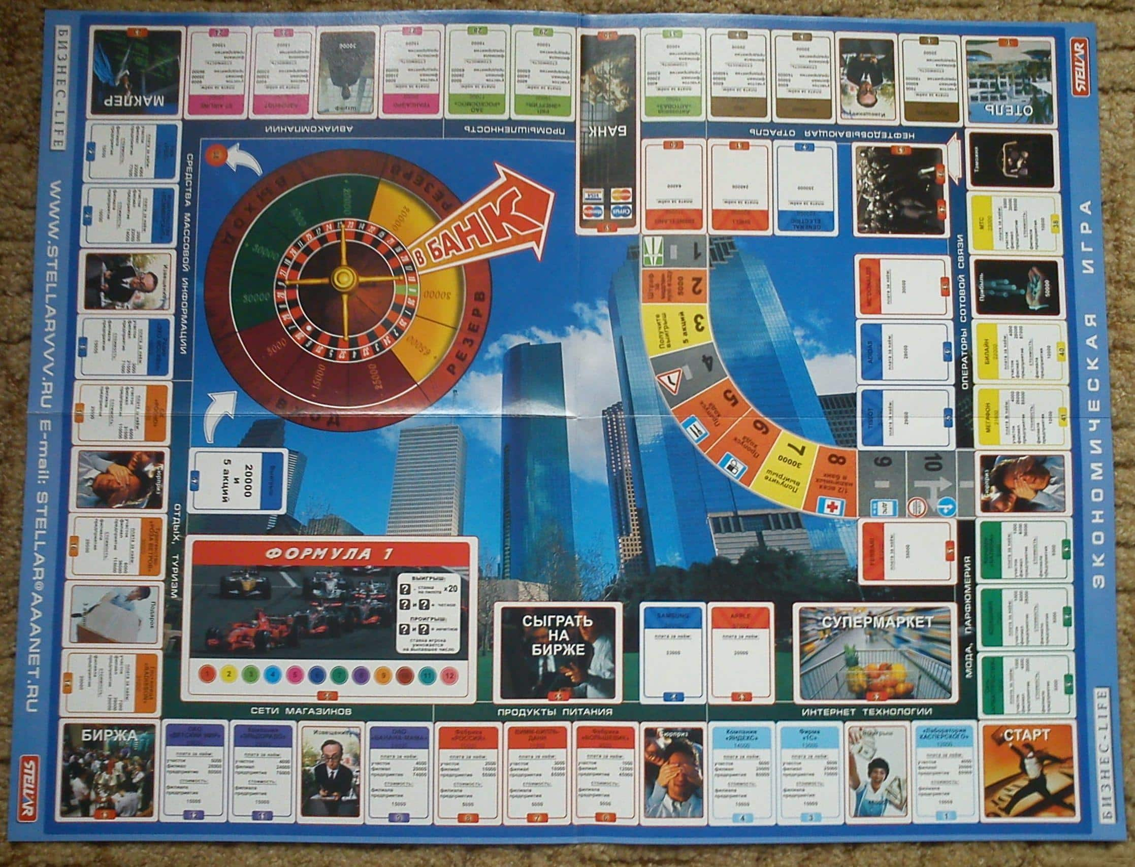экономическая игра бизнесмен дубль