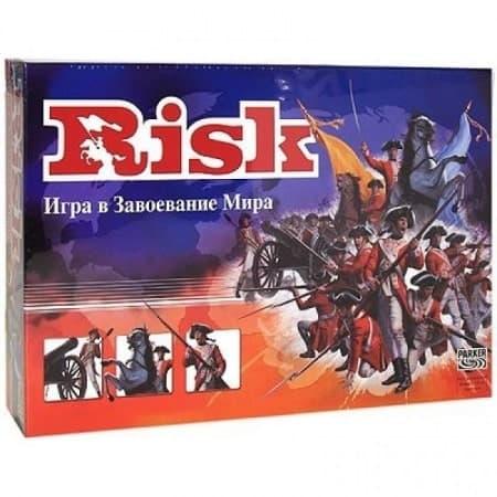 коробка с настольной игрой риск