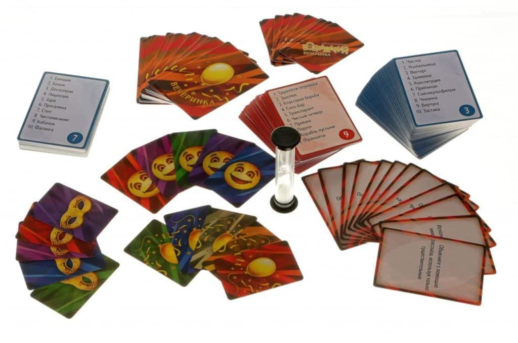 карточки с песочными часами