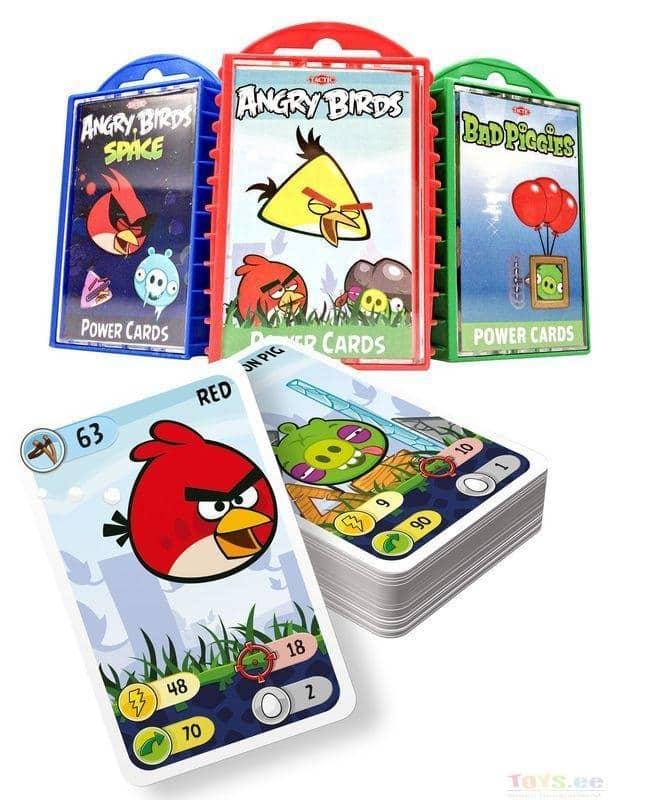 Настольные игры про Птичек Энрги Бердз выпущены в двадцати пяти вариациях