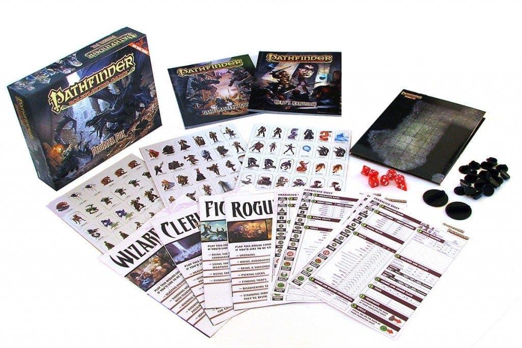 комплект для игры Pathfinder