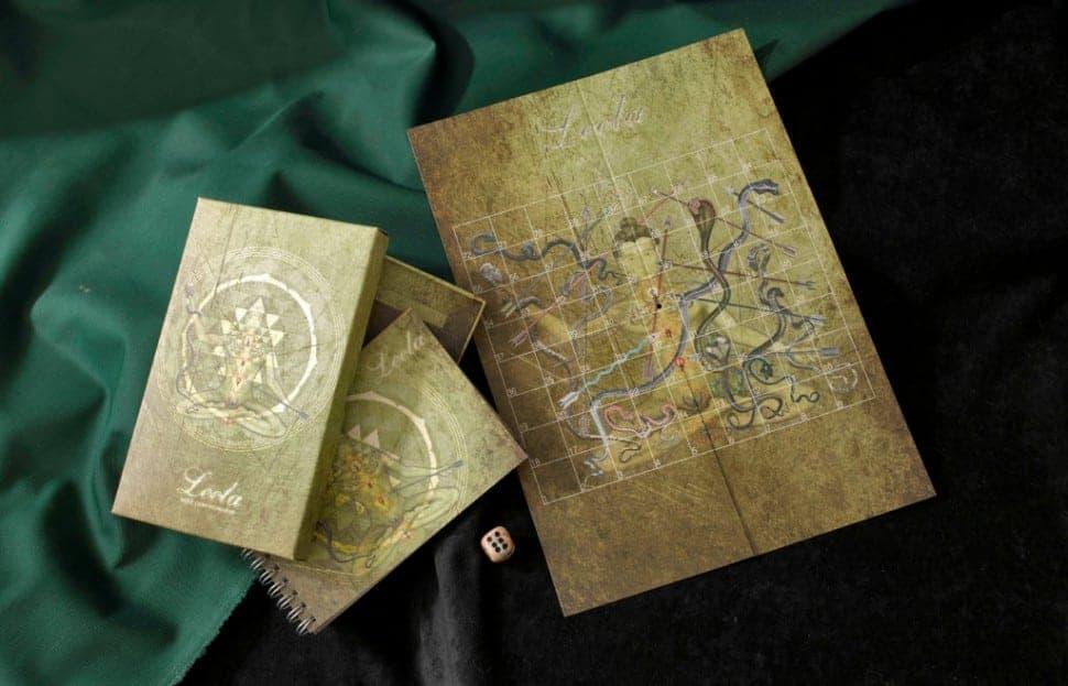 поле и карты для самопознание в игре лила