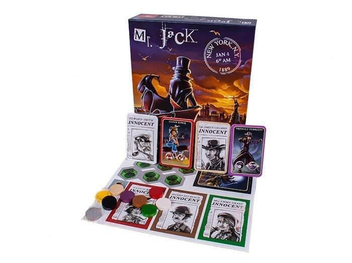 комплект для игры мистер джек