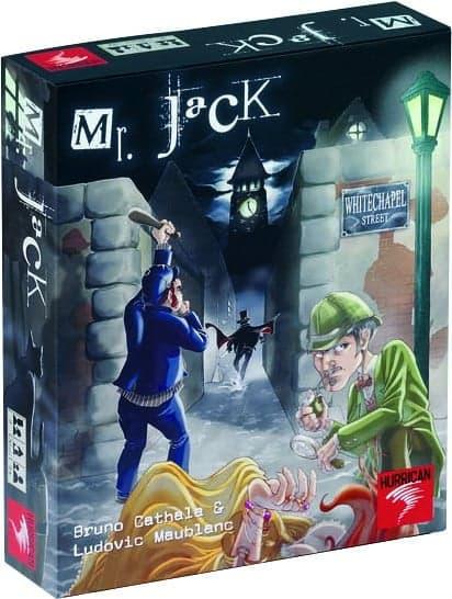 коробка с игрой mr jack