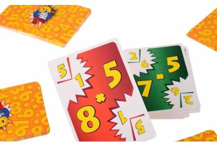 игровые карты с цифрами
