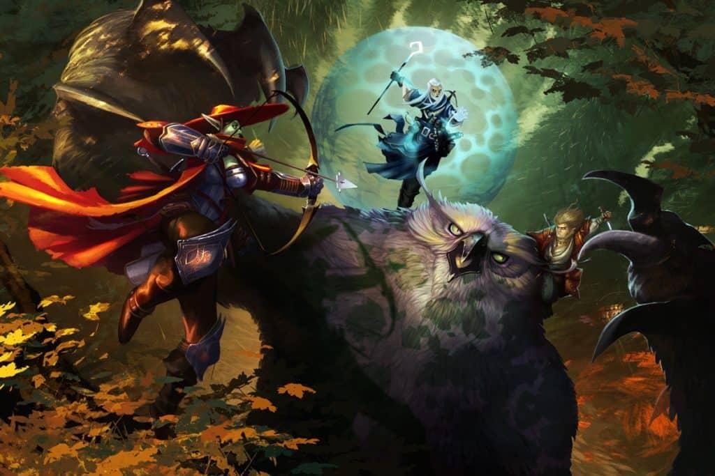 игровые персонажи игры «Pathfinder»